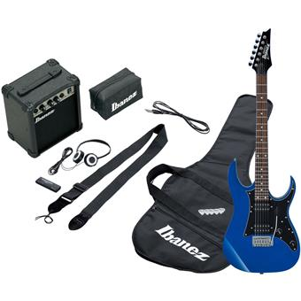 Ibanez IJRG200 Jumpstart Blue electric guitar pack