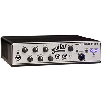 Aguilar Tone Hammer 500 solidstate bass head
