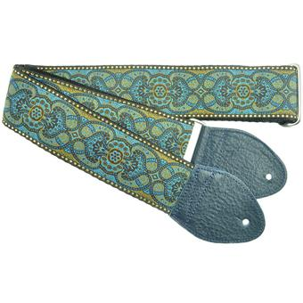 Souldier Arabesque Turquoise  gitaarband