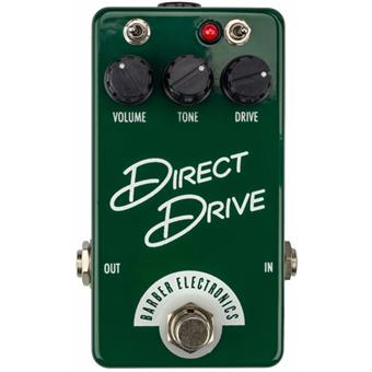 Barber Compact Direct Drive overdrive pedaal