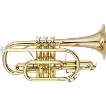 Yamaha YCR-8335G 02 Neo Series Bes Cornet Gold Brass Clear blaasinstrument