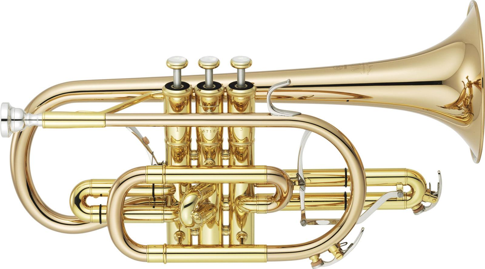 Yamaha ycr 8335g 02 neo series bes cornet gold brass clear for Yamaha electronic wind instrument