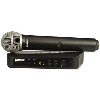 Shure BLX24E/PG58 H8E wireless handheld microphone