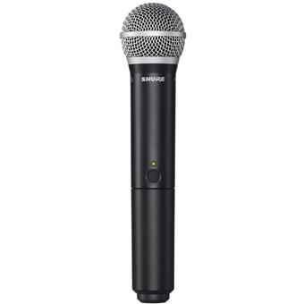 Shure BLX2/PG58 H8E wireless handheld microphone