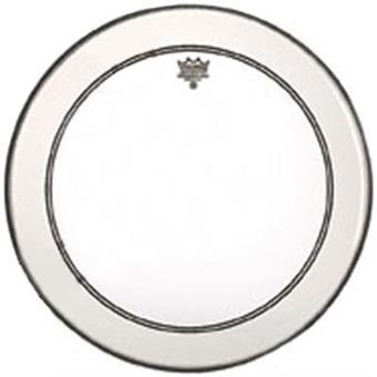 Remo P3-1316-C2 Powerstroke 3 Clear Bass 16 With White Falam Patch bass drum head