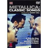 Hal Leonard Metallica Classic Songs Guitar DVD