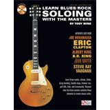 Hal Leonard Learn Blues Rock Solo Master Guitar Book