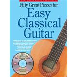 Hal Leonard 50 Great Pieces for Easy Classical Guitar Book
