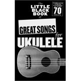 Hal Leonard Little Black Book Great Songs For Ukelele