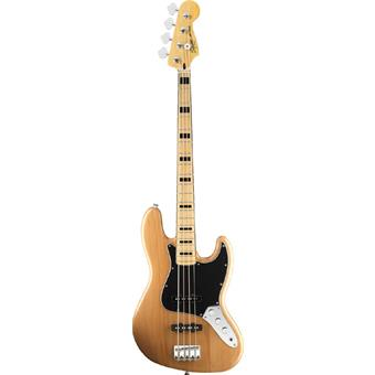 Squier Vintage Modified Jazz Bass 70s Natural 4-snarige basgitaar