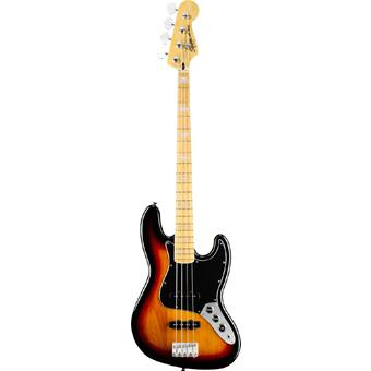 Squier Vintage Modified Jazz Bass 77 3-Color Sunburst 4-snarige basgitaar