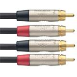 Stagg Twin cable, RCA/RCA (m/m), 6 m (20')