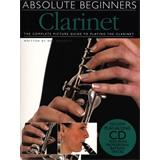 Hal Leonard Absolute Beginners Clarinet Book Plus Cd