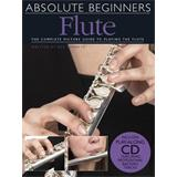 Hal Leonard Absolute Beginners Flute Book Plus Cd