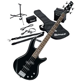 Ibanez IJSR190BK Jumpstart Pack Black bass guitar pack