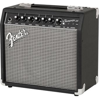 Fender Champion 20 solidstate guitar combo