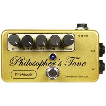 Pigtronix Philosphers Tone Germanium Gold delay/echo/looper pedaal