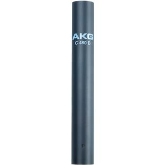AKG C480 B Combo Pro Modular Condenser Microphone studio instrument microphone