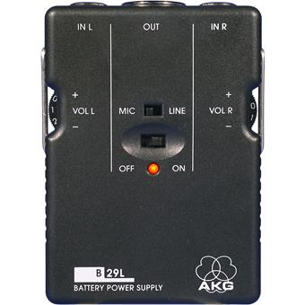 AKG B29 L Battery Power Supply Unit accessory for microphone