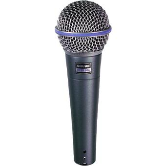 Shure Beta 58A dynamic microphone for vocalists