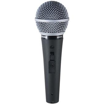Shure SM48S dynamic microphone for vocalists