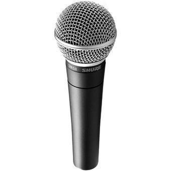 Shure SM58 dynamic microphone for vocalists
