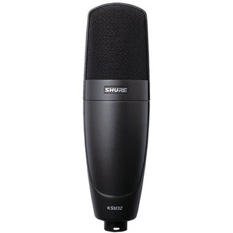 Shure KSM32 Charcoal Grey small diaphragm microphone