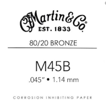 Martin Strings M45B single string for acoustic guitar