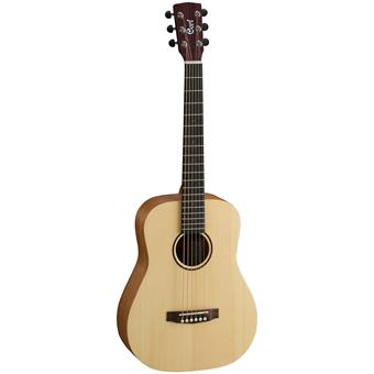 Cort Earth-Mini Open Pore guitare compacte/guitare de voyage