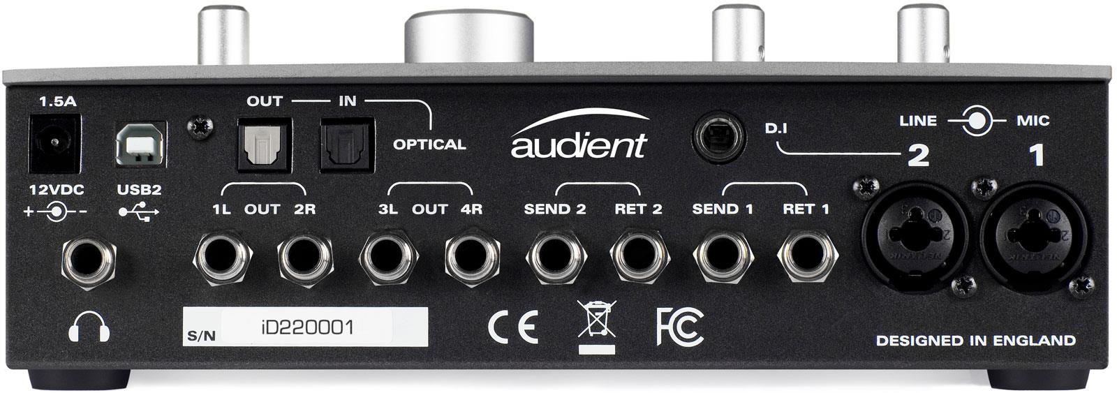 Audient iD22 Driver for Windows 7