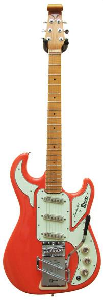 Image of Burns Hank Marvin Red Signature 0000000000000