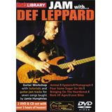 Music Sales Lick Library  Jan with Def Leppard Guitar CD/2DVD