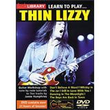 Music Sales Lick Library Learn to Play Thin Lizzy Guitar DVD