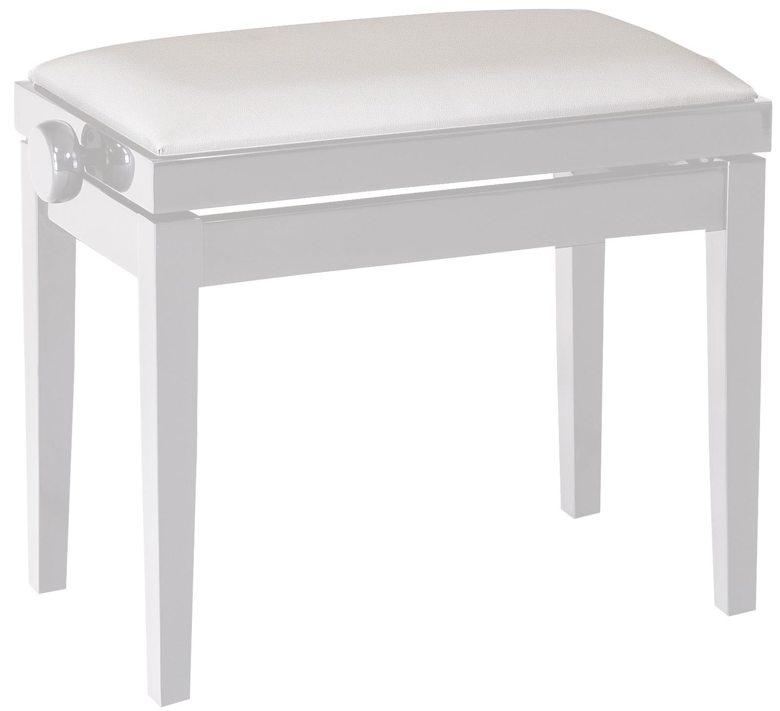 Konig Amp Meyer 13824 Piano Bench Seat Only Skai White