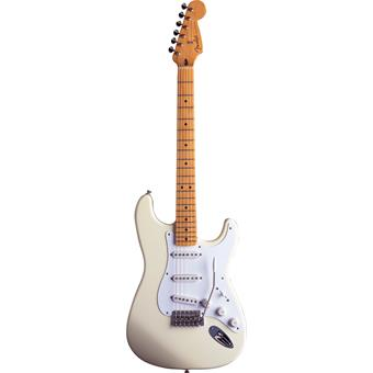 Fender Jimmie Vaughan Tex Mex Stratocaster Olympic White electric guitars