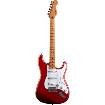 Fender Jimmie Vaughan Tex Mex Stratocaster Candy Apple Red E-Gitarre