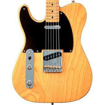 Fender American Vintage 52 Telecaster Butterscotch Bl MN Left electric guitar