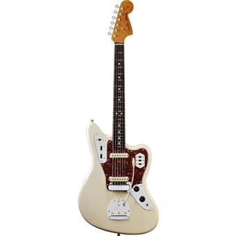 Fender American Vintage 62 Jaguar Olympic White Rosewood alternative design guitar