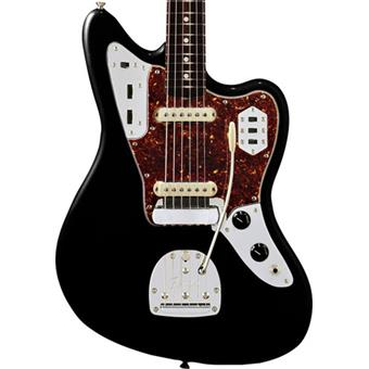 Fender American Vintage 62 Jaguar Black Rosewood alternative design guitar