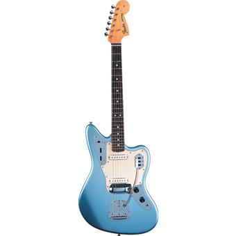 Fender American Vintage 62 Jaguar Ice Blue Metallic Rosewood Alternative Design-Gitarre