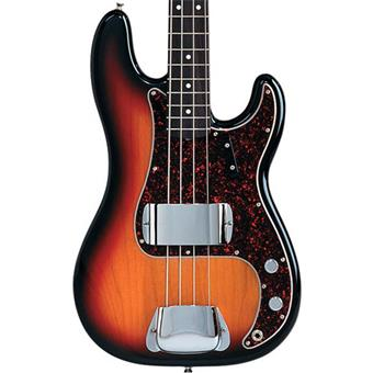 Fender American Vintage 62 Precision Bass 3-Color Sunburst RW 4 string bass guitar