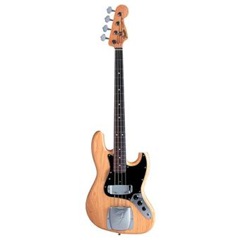 Fender American Vintage 75 Jazz Bass Natural Rosewood 4 string bass guitar