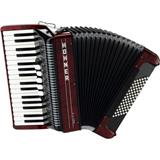 Hohner Amica III 72 Accordion Red