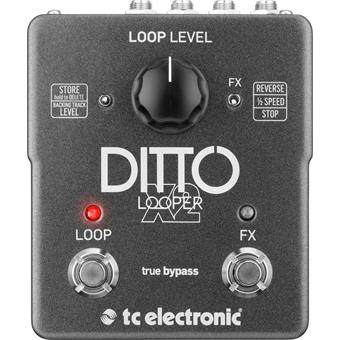 TC Electronic Ditto X2 Looper delay/echo/looper pedaal