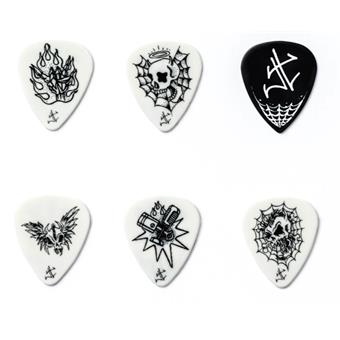 Dunlop James Hetfield Dirty Donny Pick Tin 6-Pack Signature Plektrum