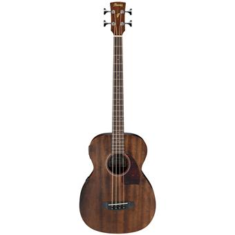 Ibanez PCBE12MH Mahogany Open Pore Natural acoustic-electric bass guitar