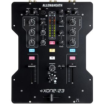 Allen & Heath Xone:23 2 channel dj mixer