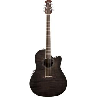 Ovation CS24P-TBBY Celebrity Standard Plus Transparent Black guitare roundback