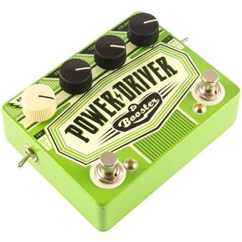 Dr. No Power Driver & Booster overdrive pedaal