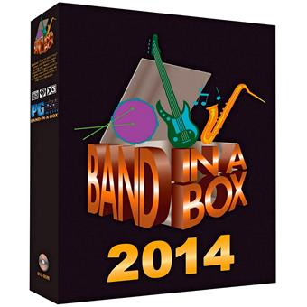 PG Music Band-In-A-Box 2014 English (Gratis NL upgrade) sequencing software/virtuele studio